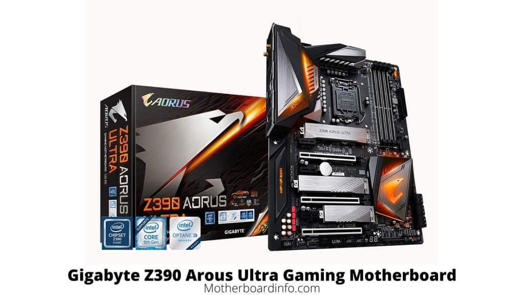 Gigabyte Z390 Arous Ultra Gaming Motherboard