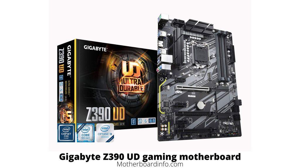 Gigabyte Z390 UD gaming motherboard
