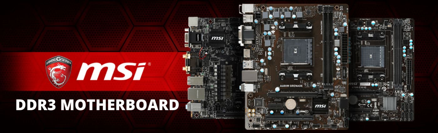 MSI AMD FM2+ A68H DDR3 Motherboard