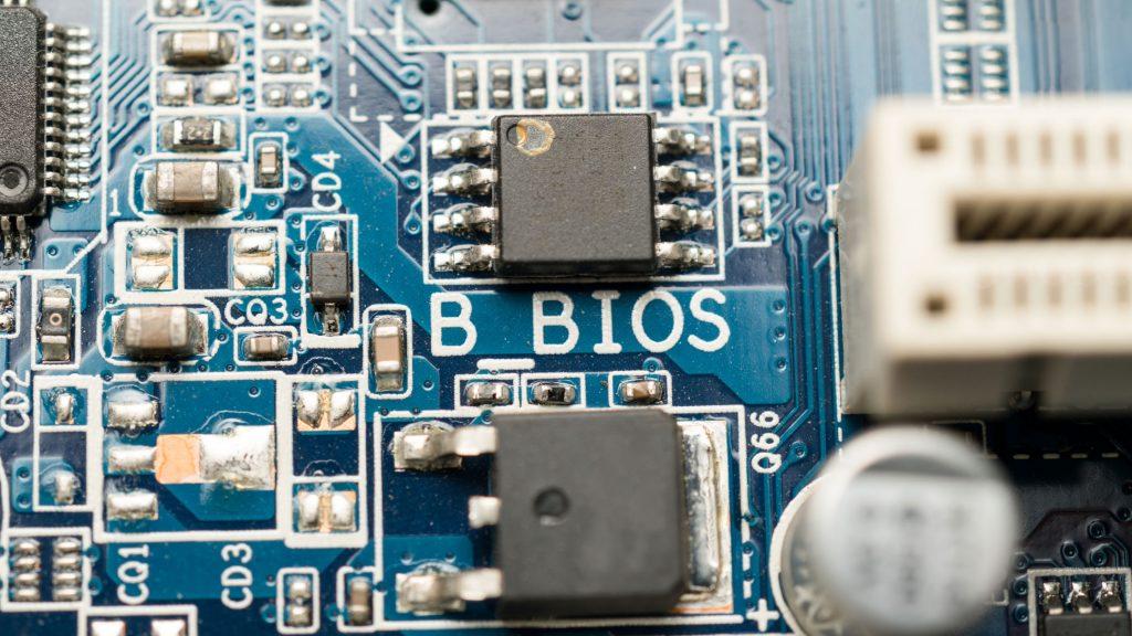 BIOS of motherboard