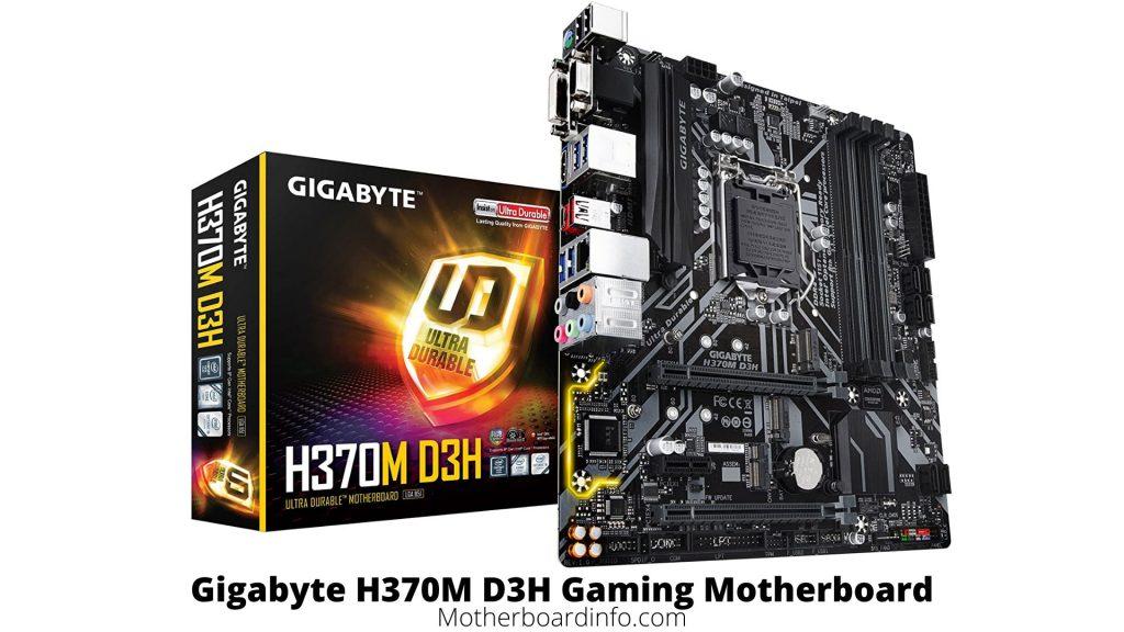 Gigabyte H370M D3H Gaming Motherboard
