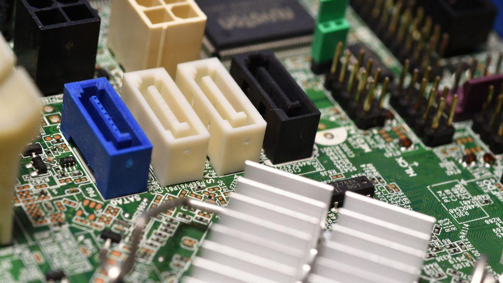 SATA Ports of motherboard