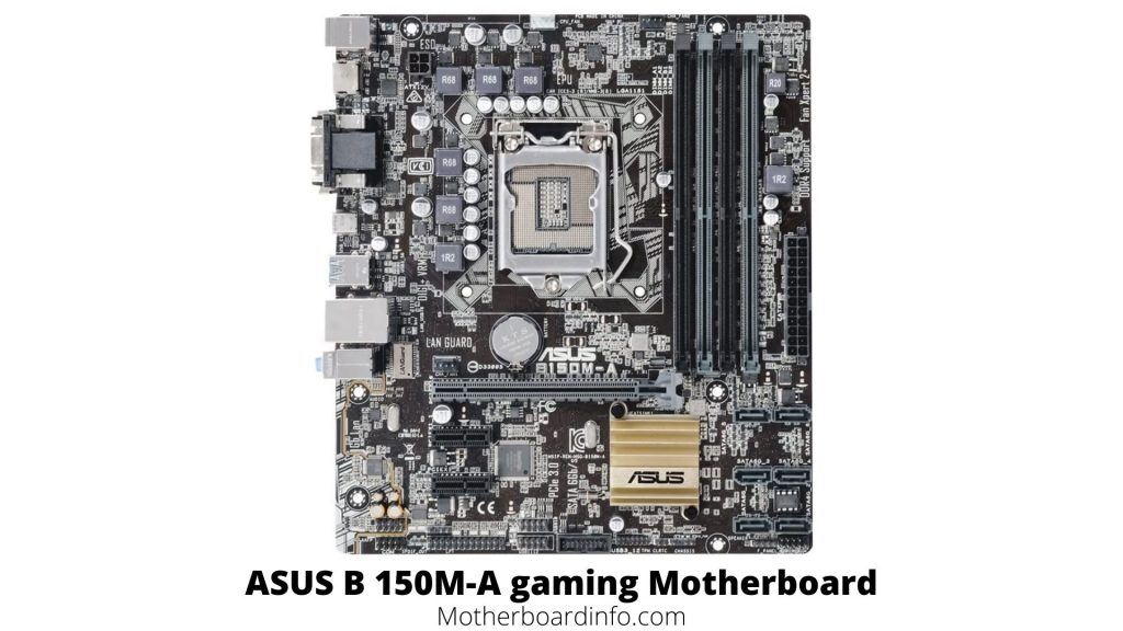 ASUS B 150M A gaming Motherboard