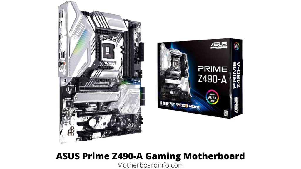 ASUS Prime Z490-A Gaming Motherboard