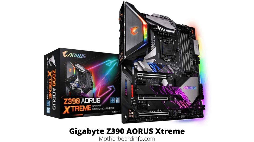 Gigabyte Z390 AORUS Xtreme