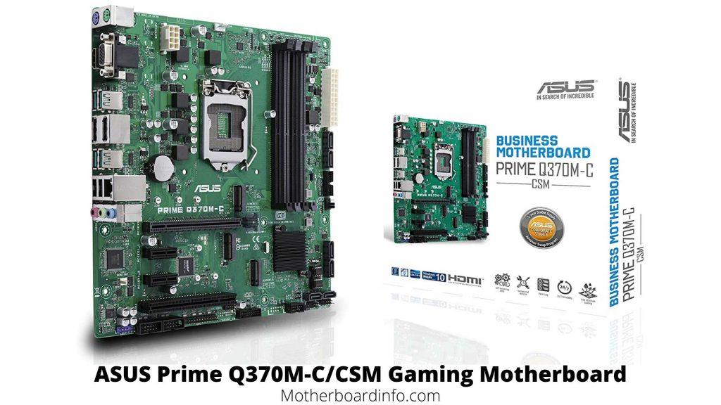 ASUS Prime Q370M-C/CSM Gaming Motherboard