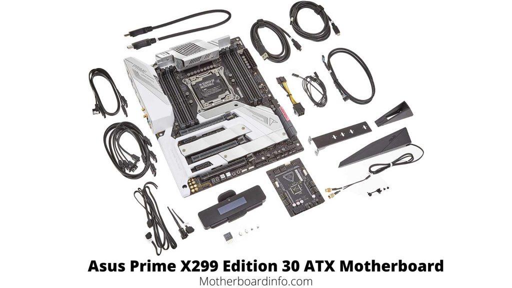 Asus Prime X299 Edition 30 ATX Motherboard